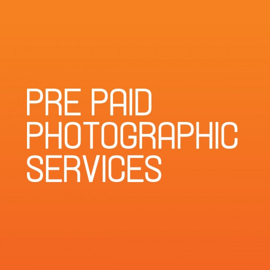Pre Paid Photographic Service
